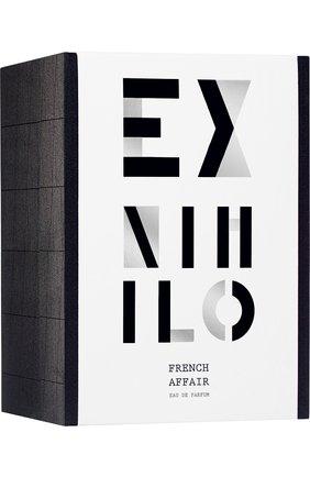 Парфюмерная вода frech affair EX NIHILO бесцветного цвета, арт. 3760264091066 | Фото 2