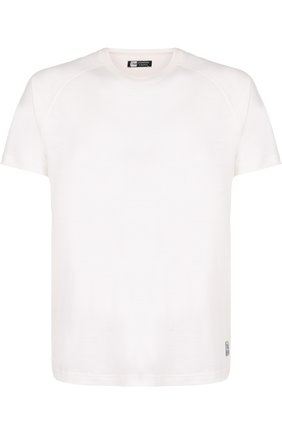 Мужская шерстяная футболка с круглым вырезом Z ZEGNA белого цвета, арт. VP391/ZZT653   Фото 1