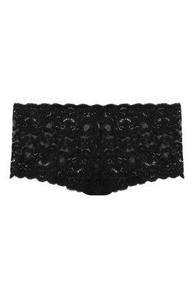 Женские трусы-шорты HANRO черного цвета, арт. 071447 | Фото 1