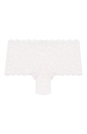 Женские трусы-шорты HANRO белого цвета, арт. 071447 | Фото 1
