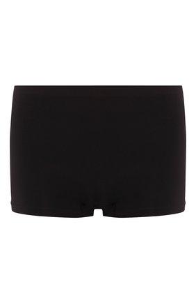 Женские трусы-шорты HANRO черного цвета, арт. 071822 | Фото 1