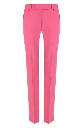 Однотонные расклешенные брюки со стрелками | Фото №1