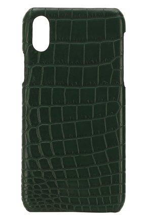 Чехол для iPhone X из кожи крокодила 2Mestyle #color#   Фото №1