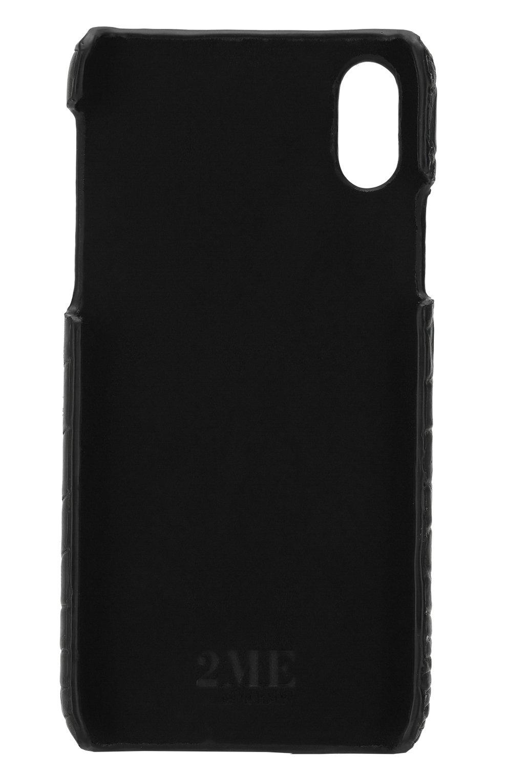 Чехол для iPhone X из кожи крокодила | Фото №2