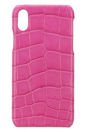 Чехол для iPhone X из кожи крокодила | Фото №1