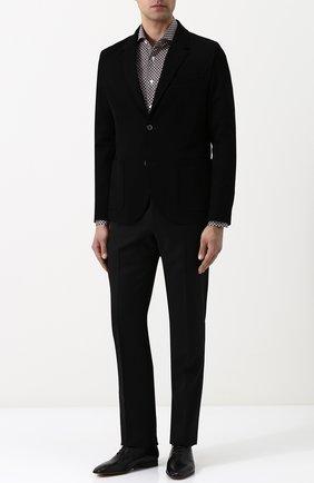 Мужские кожаные оксфорды BERLUTI черного цвета, арт. S4342-001 | Фото 2