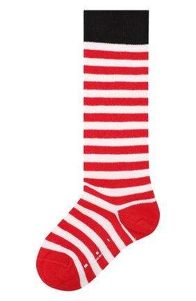 Носки с контрастной отделкой | Фото №1