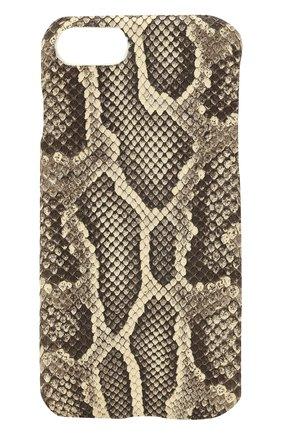 Чехол для iPhone 7/8 из кожи питона | Фото №1