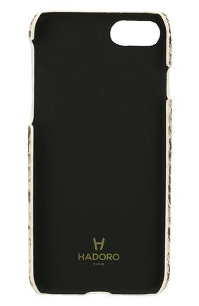 Чехол для iPhone 7/8 из кожи питона Hadoro  | Фото №2