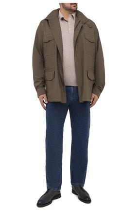 Мужские джинсы LORO PIANA синего цвета, арт. FAF8892 | Фото 2