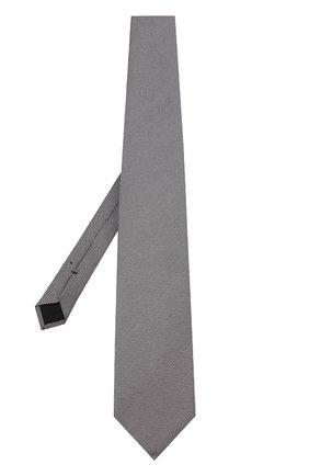 Мужской шелковый галстук TOM FORD черно-белого цвета, арт. 3TF11/XTF | Фото 2