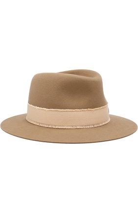 Фетровая шляпа Andre с лентой | Фото №1