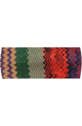 Вязаная повязка Missoni разноцветного цвета | Фото №1