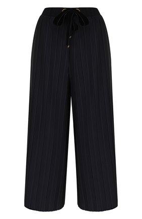 Укороченные плиссированные брюки | Фото №1