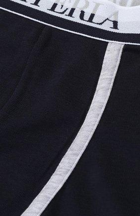 Хлопковые боксеры с логотипом бренда   Фото №3