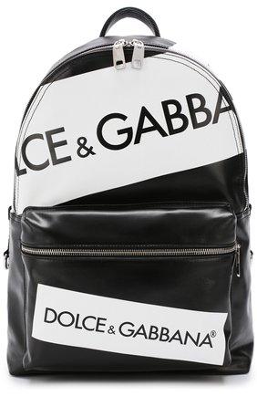 Текстильный рюкзак Vulcano с кожаной отделкой | Фото №1
