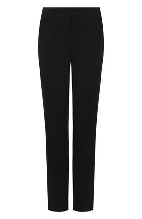 Укороченные шерстяные брюки с карманами   Фото №1