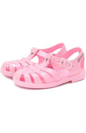Резиновые сандалии   Фото №1