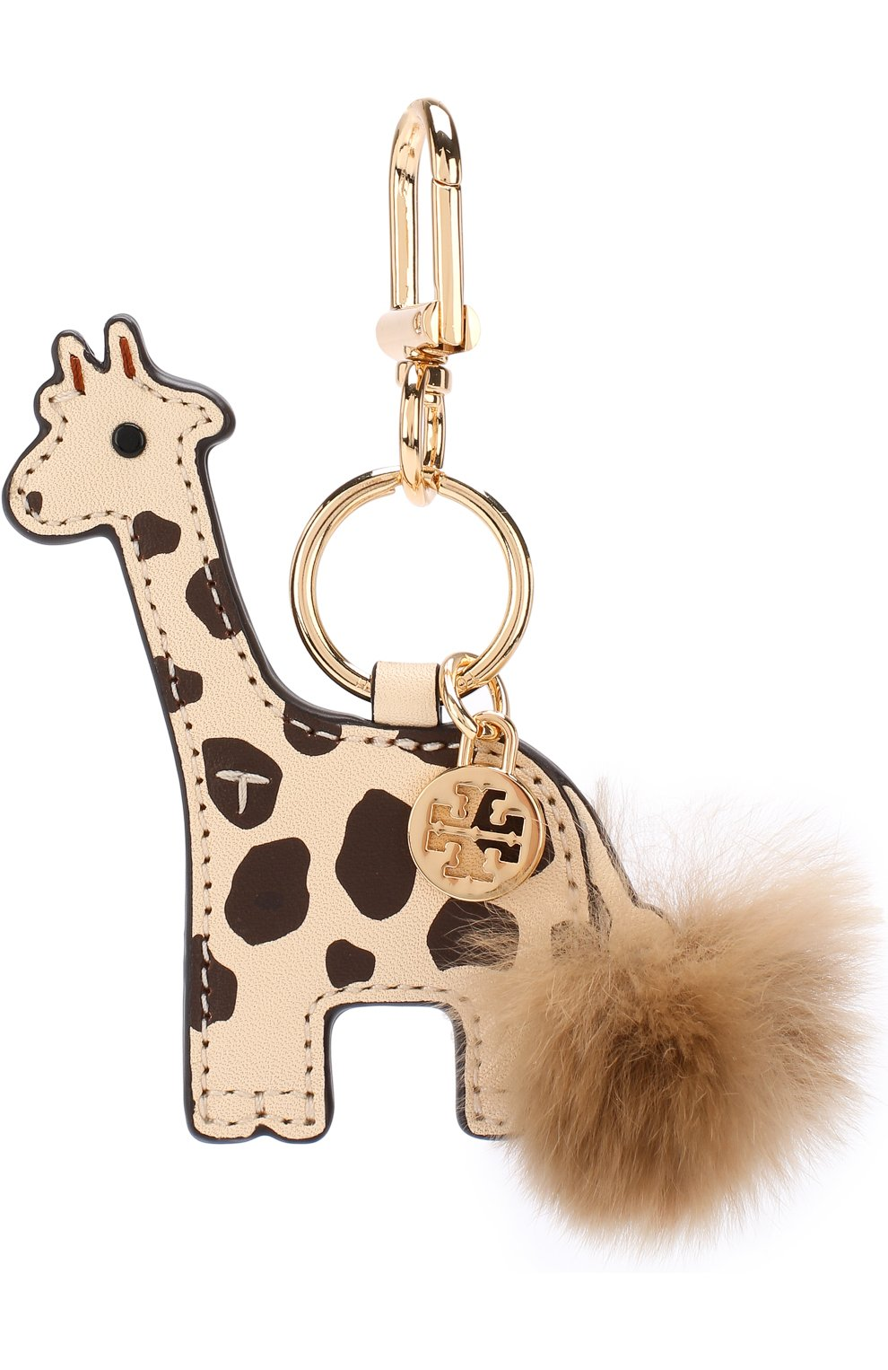 Кожаный брелок для ключей Ginny the Giraffe   Фото №1
