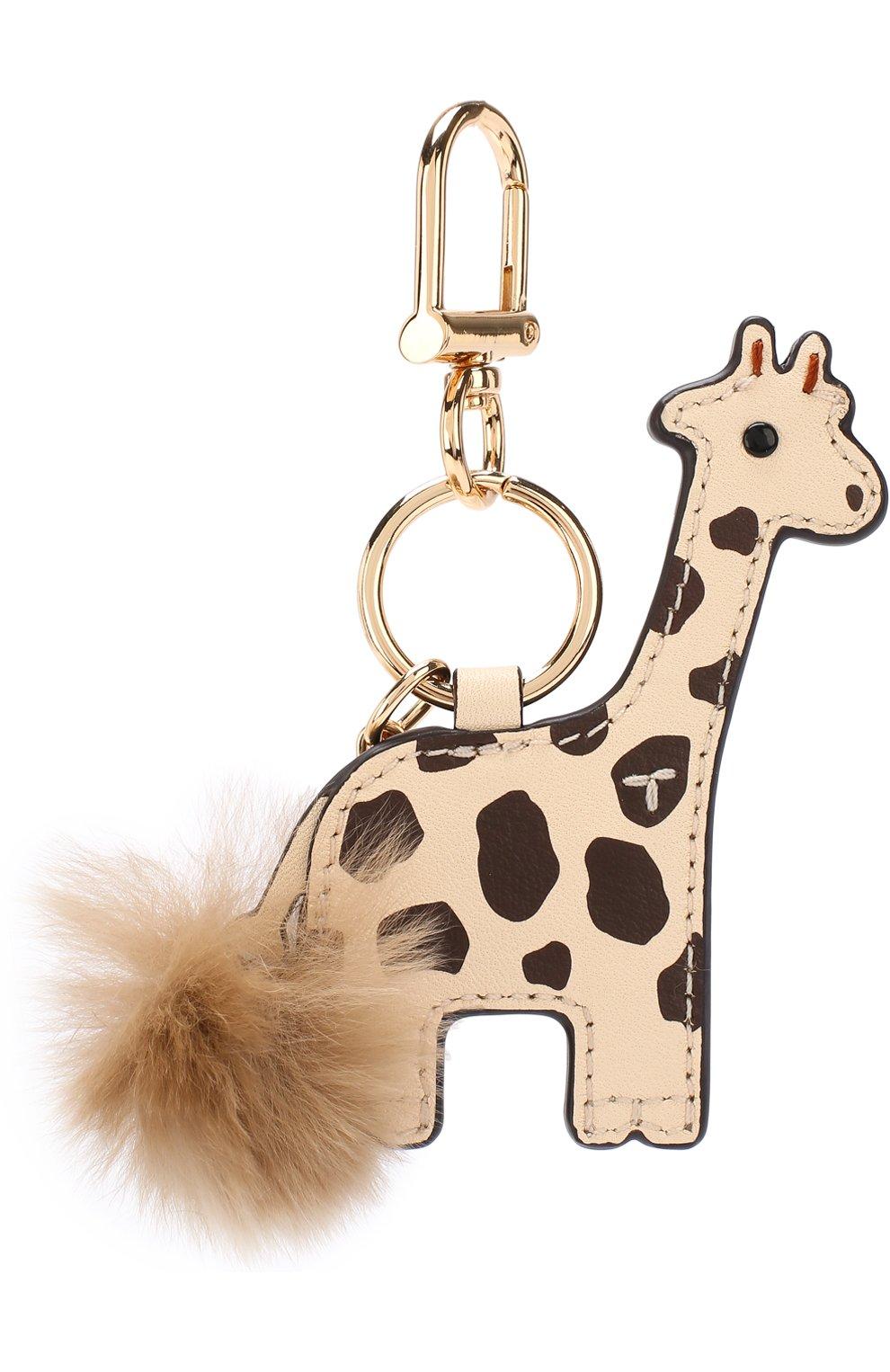 Кожаный брелок для ключей Ginny the Giraffe   Фото №2