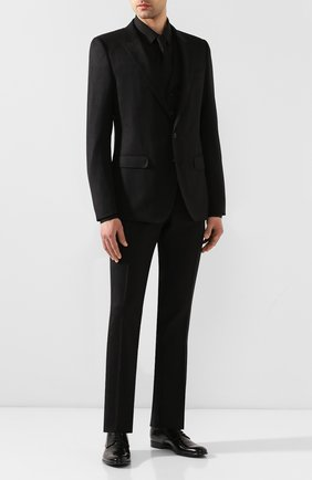Мужской кожаные дерби napoli DOLCE & GABBANA черного цвета, арт. 0111/A10306/AC460 | Фото 2