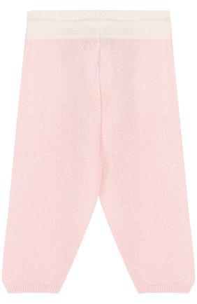 Кашемировые брюки фактурной вязки | Фото №2