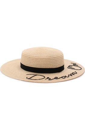 Шляпа Colette с лентой и аппликацией | Фото №1