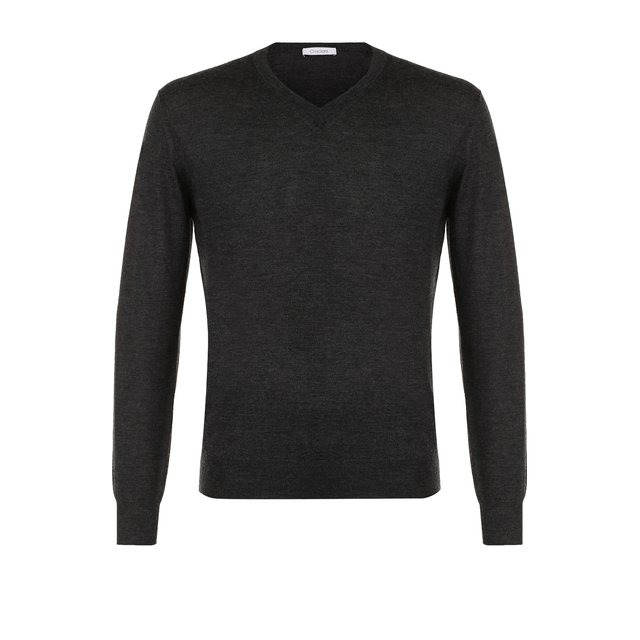 Пуловер тонкой вязки из смеси кашемира и шелка Cruciani — Пуловер тонкой вязки из смеси кашемира и шелка