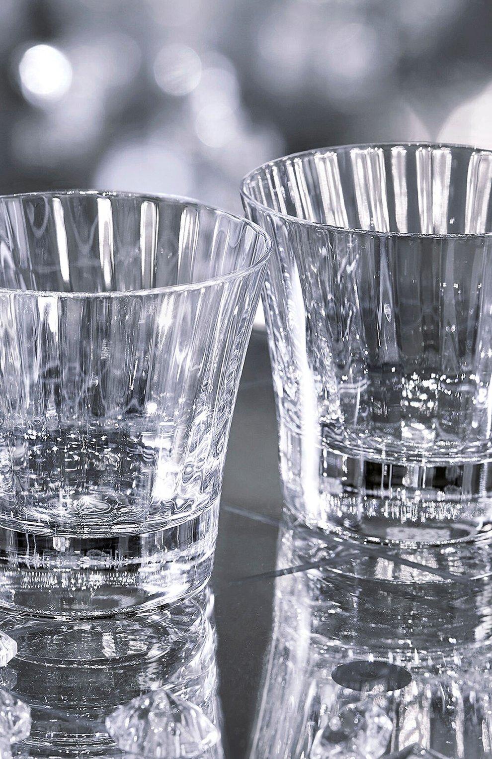 Мужского набор из 2-х стаканов для виски mille nuits №3 BACCARAT прозрачного цвета, арт. 2 105 395 | Фото 2