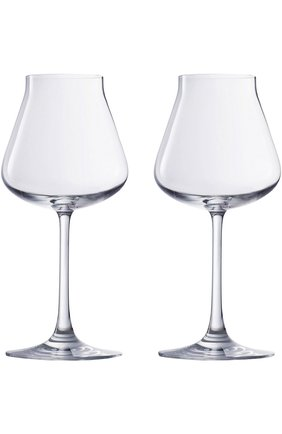 Мужского набор из двух бокалов для вина chateau baccarat BACCARAT прозрачного цвета, арт. 2 802 435 | Фото 1