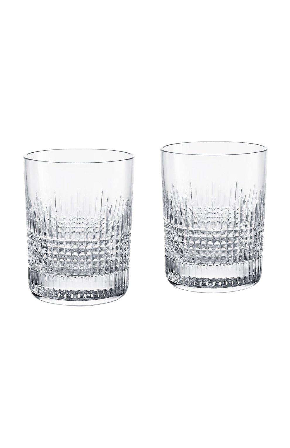Мужского набор из 2-х стаканов для виски nancy №2 BACCARAT прозрачного цвета, арт. 2 811 580   Фото 1