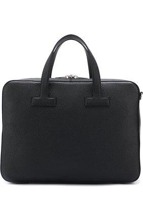 Кожаная сумка для ноутбука с плечевым ремнем | Фото №1