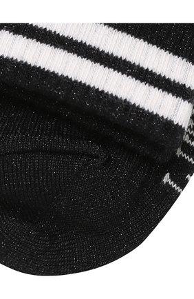 Детские носки с контрастной отделкой Little Remix черного цвета   Фото №2