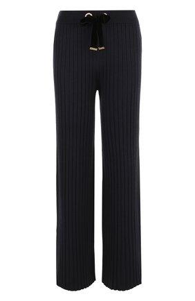 Расклешенные брюки фактурной вязки | Фото №1
