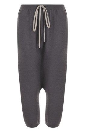 Кашемировые брюки с заниженной линией шага | Фото №1