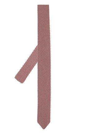 Мужской шелковый вязаный галстук GIORGIO ARMANI разноцветного цвета, арт. 360056/8P970 | Фото 2