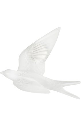 Мужского скульптура hirondelles LALIQUE прозрачного цвета, арт. 10624600 | Фото 1