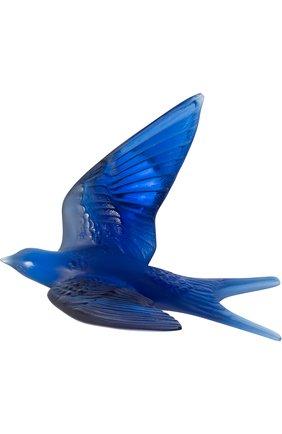 Мужского скульптура swallow wings up LALIQUE синего цвета, арт. 10624700 | Фото 1