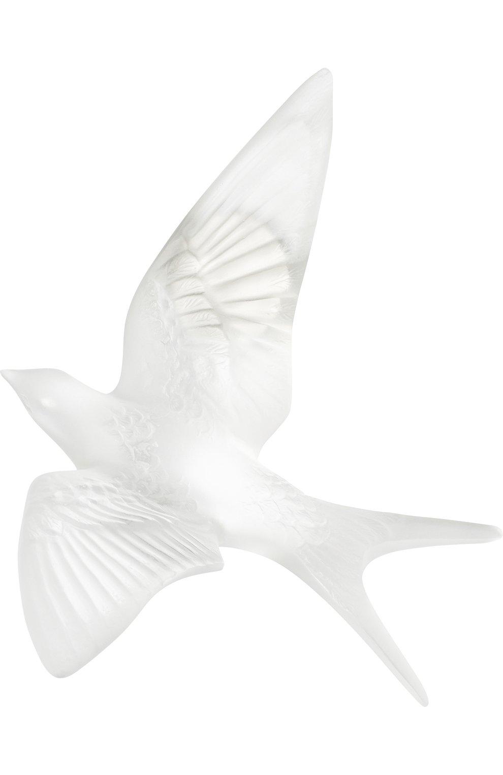 Мужского скульптура hirondelles LALIQUE прозрачного цвета, арт. 10624800 | Фото 1