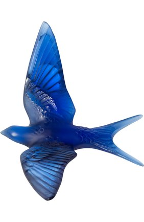 Мужского скульптура swallow LALIQUE синего цвета, арт. 10624900 | Фото 1