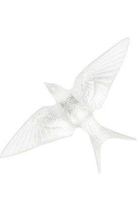 Мужского скульптура hirondelles LALIQUE прозрачного цвета, арт. 10625000 | Фото 1