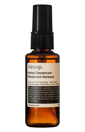 Женский дезодорант herbal AESOP бесцветного цвета, арт. ABS24 | Фото 1
