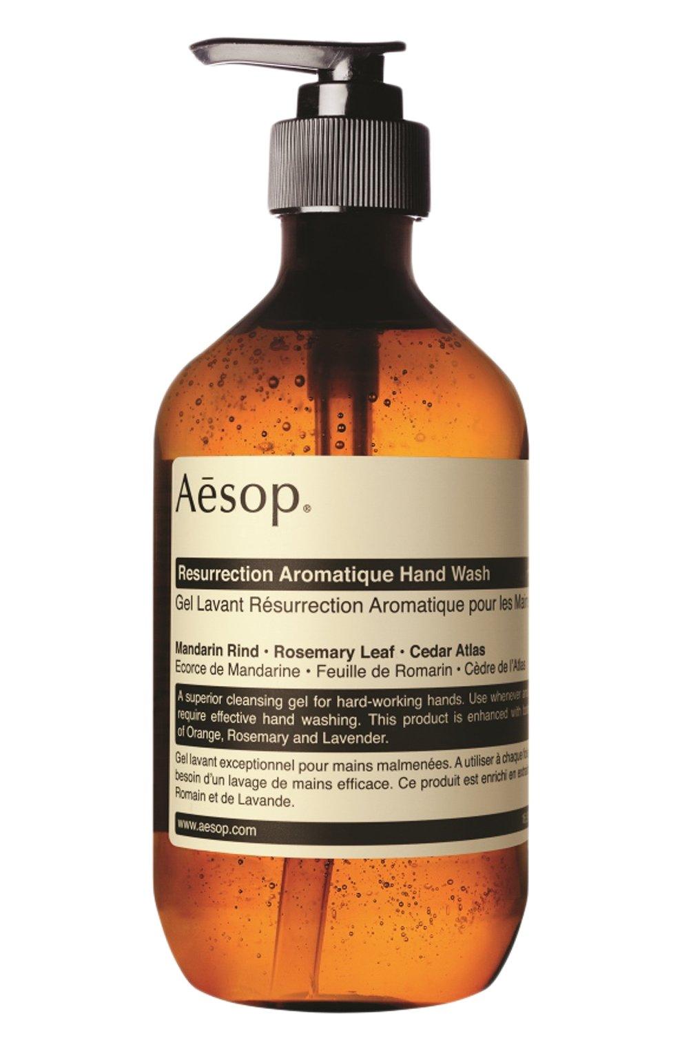 Гель для рук resurrection AESOP бесцветного цвета, арт. B500BT13RF   Фото 1 (Статус проверки: Проверена категория)