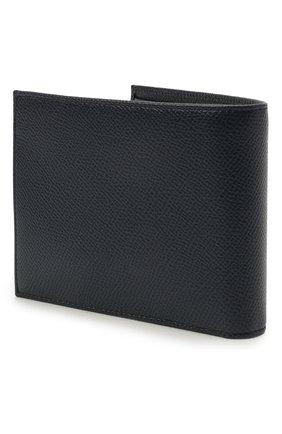 Мужской кожаное портмоне с отделениями для кредитных карт и монет DOLCE & GABBANA синего цвета, арт. BP0457/AI359 | Фото 2