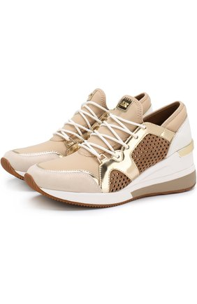 Комбинированные кроссовки Scout на шнуровке