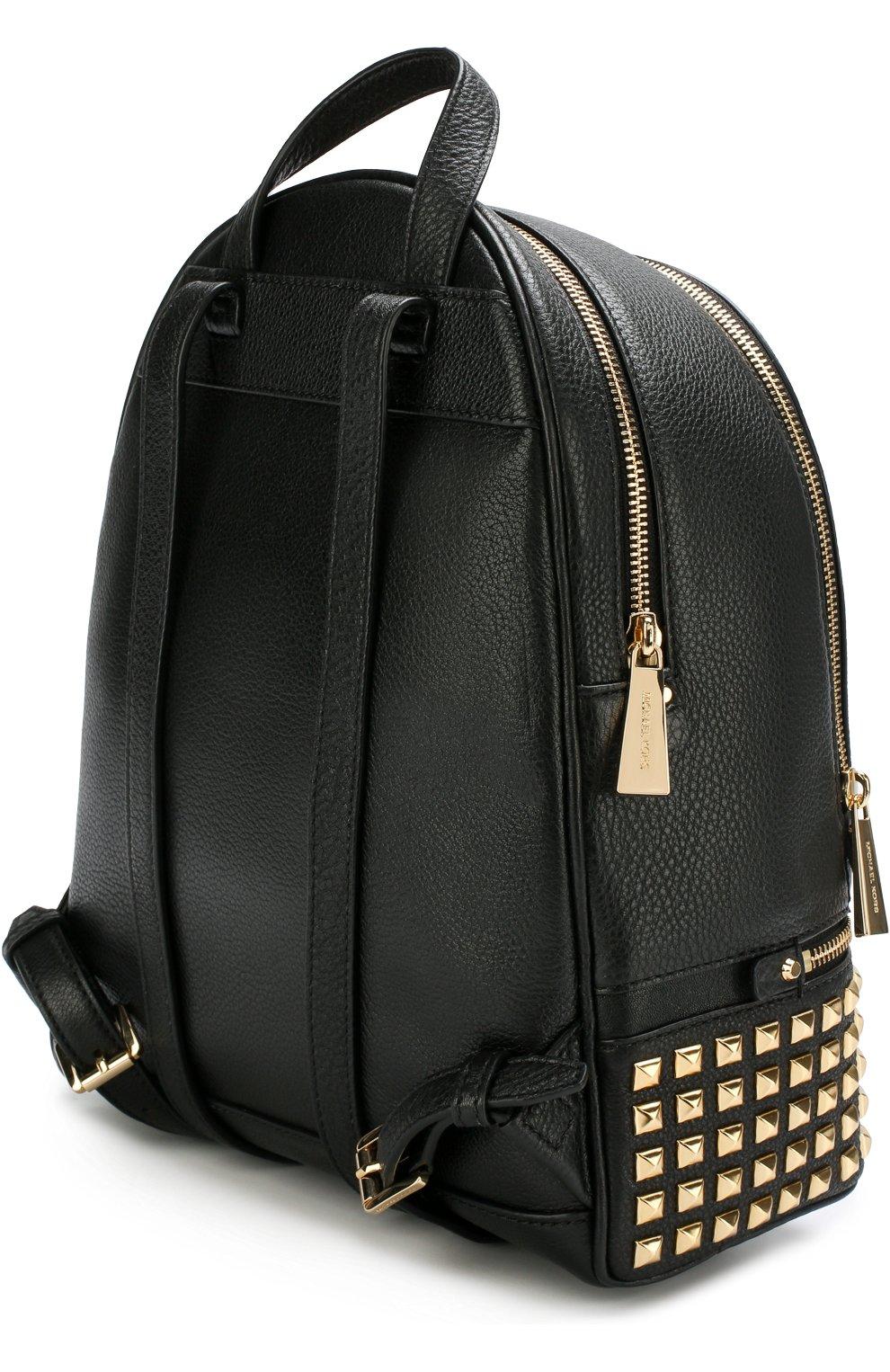 Кожаный рюкзак Rhea Zip Small | Фото №3