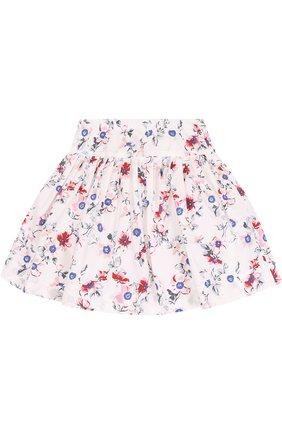 Хлопковая юбка с принтом | Фото №2