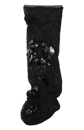 Носки из полиэстера с пайетками | Фото №1