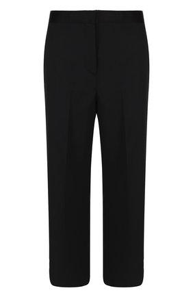 Укороченные расклешенные брюки из шерсти