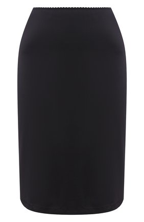 Женская юбка из вискозы HANRO черного цвета, арт. 071064 | Фото 1